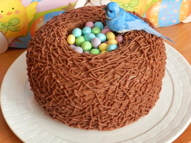 1. Húsvéti madárfészek torta