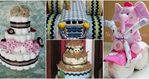 10 imádnivaló pelenkatorta ötlet újszülöttköszöntésre