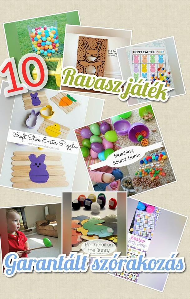 10 ravasz játék húsvétra a garantált szórakozásért pin
