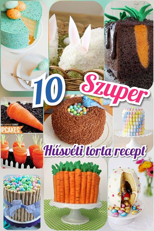 10 szuper kreatív és költséghatékony húsvéti torta recept, amivel lenyűgözheted családodat pin