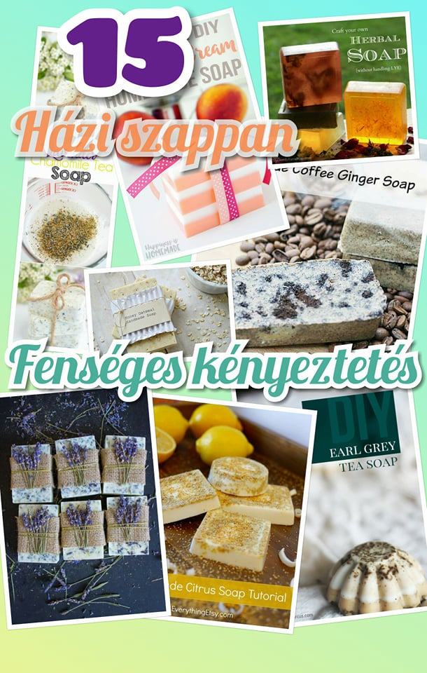 15 házi szappan, ami fenséges kényeztetést nyújt bőrödnek pin