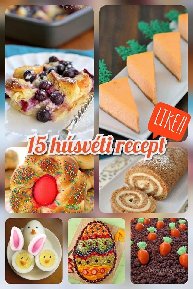 15 húsvéti recept, amik garantáltan nagy sikert aratnak az ünnepek alatt pin