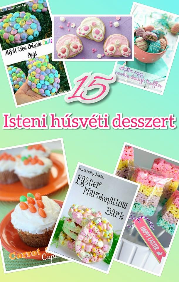 15 isteni húsvéti desszert, amivel kényeztetheted a családodat pin
