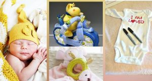 20 DIY újszülöttköszöntő ajándék, amik nem csak gyönyörűek, hanem hasznosak is