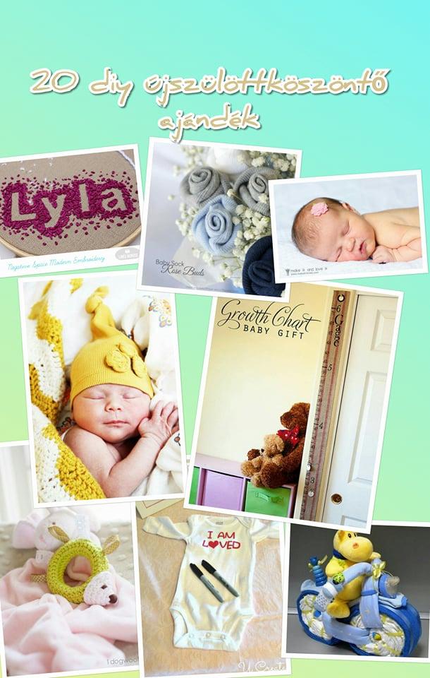 20 DIY újszülöttköszöntő ajándék, amik nem csak gyönyörűek, hanem hasznosak is pin