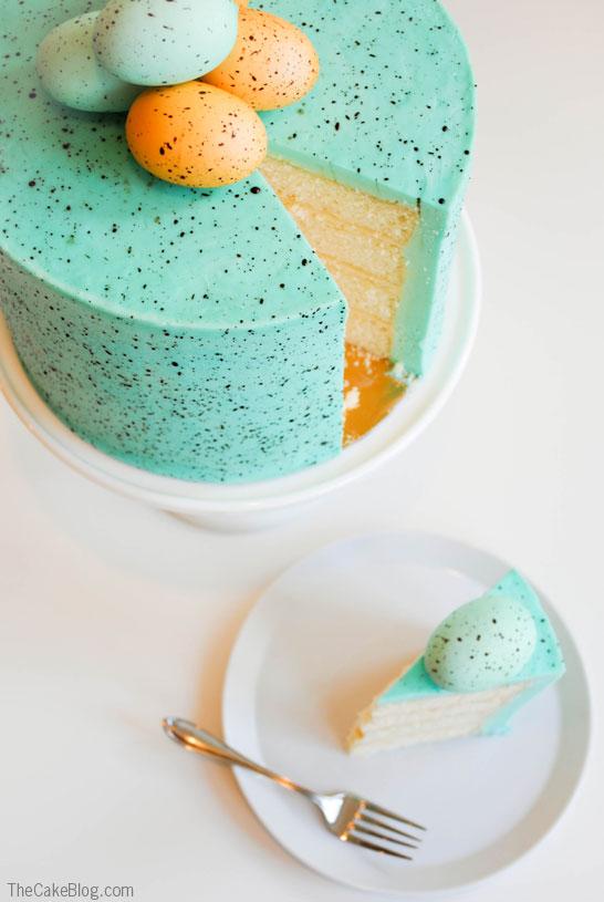 4. Pettyes tojás torta