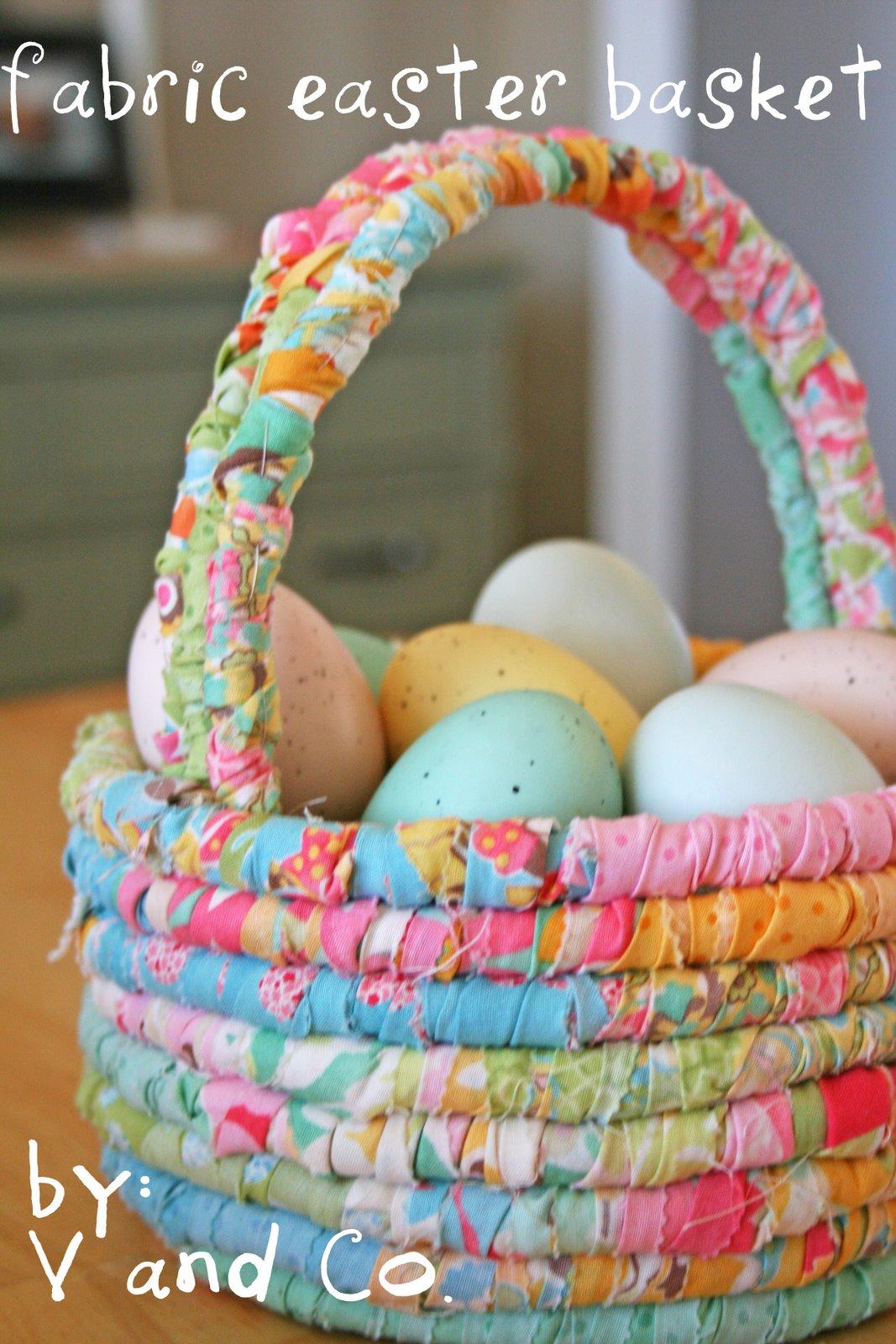 6. Textil húsvéti kosárka