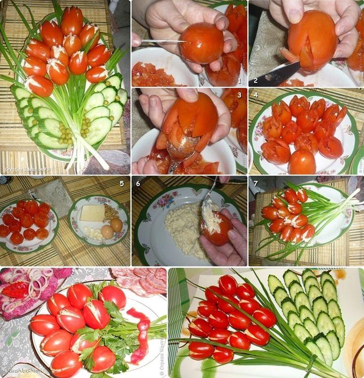 9. Ízletes paradicsom tulipánok