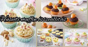 Húsvéti muffin összeállítás